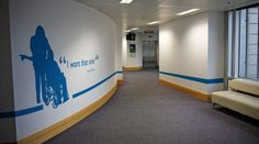 Corporate wall graphics to spruce up your space.