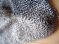 beloved knitter Amy Swanson, shows how to create a heel in ANY sock, using short rows.