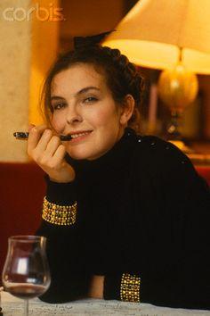 carole bouquet paris c1987 - Carole Bouquet Mariage 1991