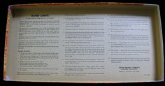 The Outer Limits game rules.