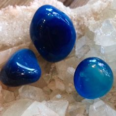 Blue Onyx is the original WORRY STONE used to soothe fears, helps improve concentration.  Helps with self control and also BUILDS STAMINA.  Allows us to let go of the physical, relax and FLOW WITH THE NATURAL ENERGIES.   Especially good for athletes to increase vigor, strength and stamina.