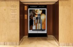 The view of our Master Perfume Collection on the Harrods elevator (that leads up directly to the 5th. floor where Roja Dove's Haute Parfumerie is our exclusive retailer in the UK) felt like a milestone in the (short) history of Puredistance (September 2010)