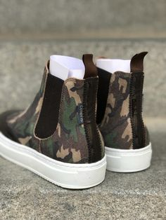 Short Boots, Brogues, Design Your Own, Calf Leather, All The Colors, Camouflage, High Top Sneakers, Baby Shoes, Stylish