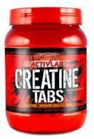 ActivLab Creatine Tabs to mocno skoncentrowana kreatyna w tabletkach. Jedna tabletka tej kreatyny zawiera aż 1000 mq czystego monohydratu kreatyny. Produkt idealny dla sportowców wszelkich dyscyplin sportowych a w szczególności cieszy się dużym uznaniem wśród kulturystów.