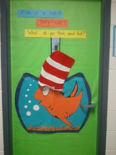Dr Seuss classroom door