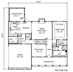 Holy floor plans on pinterest barndominium floor plans for Homes with master bedroom on first floor for sale
