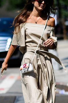 The Best Street Style at New York Fashion Week @sommerswim