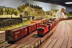 Inside the Model Railroad Club of Toronto