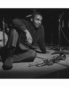 Freddie Hubbard at the Maiden Voyage Recording Session Jazz Artists, Blues Artists, Jazz Musicians, Music Artists, Good Music, My Music, Big Band Leaders, Francis Wolff, Freddie Hubbard