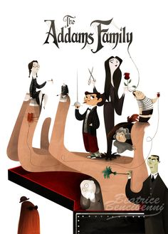 The Addams Family movie poster edited in my own style, for a school proj. The Addams Family Kids Reading Books, Kids Story Books, Pet Lion, Gomez And Morticia, Charles Addams, Family Poster, Adams Family, Cinema, Batman Art