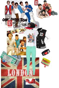 """""""extreme fan 1D concert outfit"""" by mnn2012 ❤ liked on Polyvore"""