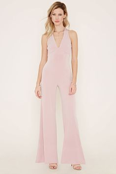 Forever 21 is the authority on fashion & the go-to retailer for the latest trends, styles & the hottest deals. Shop dresses, tops, tees, leggings & more! Fashion Essentials, Wide Leg, 21st, Forever 21, Jumpsuit, V Neck, My Style, Reformation, How To Wear