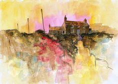 Heathland cottage14 x 10 inches2011