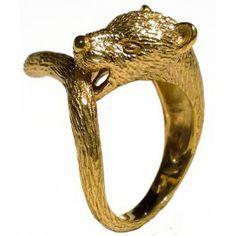 Gold panther ring  Chic Sick Chic Paris