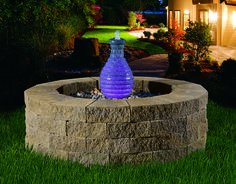 This Cambridge water feature looks stunning in any backyard.