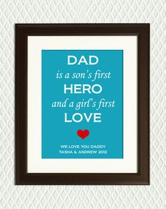 Personalized FATHER'S DAY GIFT  Gift for a by myplaceintheworld, $22.00