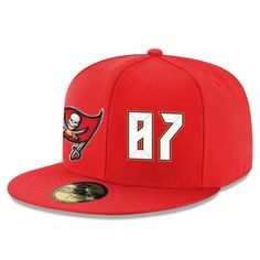 Tampa Bay Buccaneers Vincent Jackson Snapback Cap NFL Player Red with White  Number Hat f47178b2b9b4