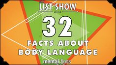 A weekly show where knowledge junkies get their fix of trivia-tastic information. This week, Adriene shares some little known facts about body language! Subs...