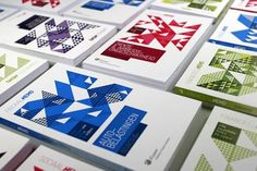 Graphic Design Inspiration  Graphic cover designs created by OK200 Graphic Design Studio for a series of about 30 reference guides about law, published by Wolters Kluwer Business.  more on WE AND THE COLORFacebook // Twitter // Google+ // Pinterest