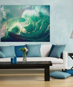 Look at this Africa Ocean II Wrapped Canvas on #zulily today!