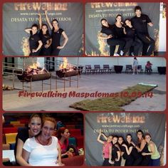 Momentos de este sábado en Firewalking Maspalomas!!! Únicos!!!! Próximo Firewalking en Barcelona 24 de Mayo!! No dejes que te lo cuenten!!! #firewalking