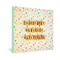 Happy Ever After Wrapped Canvas now featured on Fab.