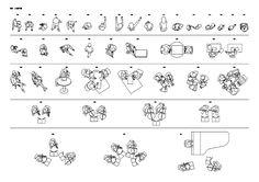 平面図に使える人物CADデータ / DLmarket
