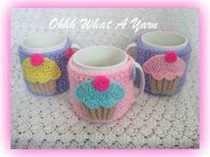14. Ohhh What a Yarn ~ cupcake mug hugs