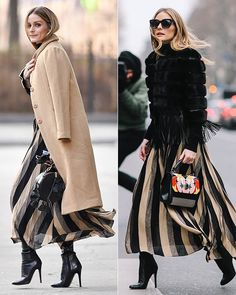 The Best Street Style Inspiration & More Details That Make the Difference Style Olivia Palermo, Olivia Palermo Outfit, Olivia Palermo Lookbook, Vogue Fashion, Look Fashion, Winter Fashion, Fashion Outfits, Womens Fashion, Fashion Weeks