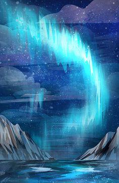 """zandraart: """" northern lights """""""
