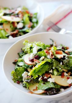 Cape Cod Chopped Salad with Maple Dijon Vinegrette