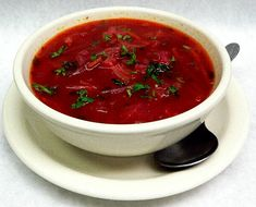 """The BEST EVER Borscht!  From Moosewood Cookbook. Source writes, """"I have made it many, many times."""" Me too.    INGREDIENTS    2 Tbs. butter  1 1/2 cups chopped onion  1 1/2 cups thinly slcied potato  1 cup thinly sliced beets  1 large carrot, sliced  1 stalk celery chopped  3 cups chopped cabbage  1 scant tsp. caraway seeds  6 cups stock or water or 3 of each  2 tsp. salt  black pepper  1/4 tsp. dill weed  1 Tbs + 1 tsp. cider vinegar  1 Tbs. + 1 tsp. honey  1 cup tomato puree  Sour cream"""
