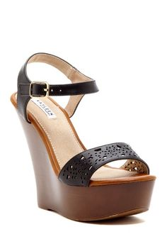 wedge sandal (footwear, wedges, summer, heels)
