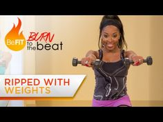 Dance Cardio with Weights Workout: Burn to the Beat- Keaira LaShae - YouTube