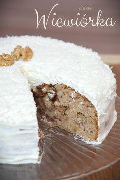 Ciasto Wiewiórka Christmas Gingerbread House, Angel Cake, Vanilla Cake, Ale, Good Food, Food And Drink, Cupcakes, Interesting Recipes, Sugar