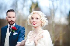 Can't beat a bride with red lips... - shoot inspired by #greatgatsby