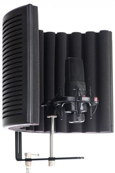 Perfect for home studio vocal booths, room mic isolation and field recordings. microphone not included Audio Studio, Music Studio Room, Sound Studio, Home Studio Setup, Dream Studio, Studio Ideas, Ikea Hacks, Microphone Studio, Studio Equipment