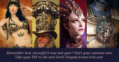 5 reasons to make your next costume with Organic Armor Arts http://organicarmorarts.com/5-reasons/
