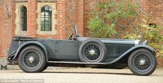 1928 Mercedes-Benz S-Type Sports Tourer it was capable of 100mph and was one of the fastest cars of its day.