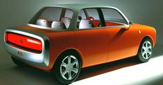 The O21C 1999 Ford Motor concept car. (Credit: Marc Newson/Ford Motor)