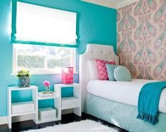 blue pink girly decor (1)