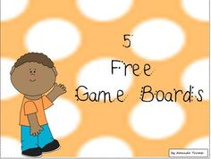 FREEBIE--These are 5 games boards that can be used to teach or reinforce a skill. Create your own deck of cards and begin playing. The students will love them! 1. Snakes and Ladders 2. Fill Up the Jar 3. Football Frenzy 4. Give the Dog a Bone 5. Blockbuster