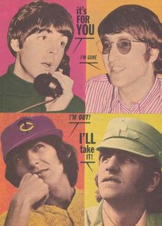The Beatles------ Paul McCartney John Lennon, George Harrison, & Ringo Starr Great Bands, Cool Bands, The Rock, Rock And Roll, Rock Band Posters, Lennon And Mccartney, Indie, This Is Your Life, The Fab Four