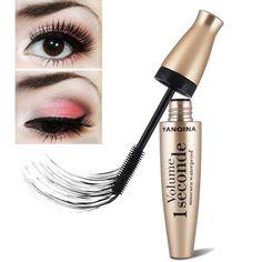 7e7f16964eb $8.90 Quality Black Eye Mascara Long Eyelash Silicone Brush Curving  Lengthening Mascara Waterproof Makeup New H7JP