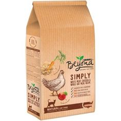Purina Beyond Simply White Meat Chicken & Whole Oat Meal Recipe Cat Food 3 lb. Bag