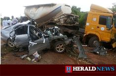 Pastor Oluwajuwon Adebayo, and his assistant, Pastor Sunday Ajenifuja, were crushed to death by a reckless trailer driver at lpele Junction in Owo council area of Ondo State. Herald News gathered that the twosome usually took the alternate route of Owo-Ifon-Okeluse in Ose council area to their place of work due to the bad road from Akure, the state capital.   #PastorOluwajuwonAdebayo #PastorSundayAjenifuja