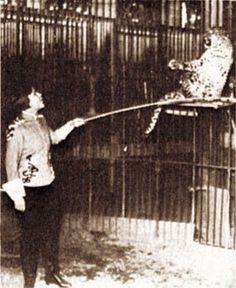 Matrona, daughter of #Rasputin in her profession in the circus 1935