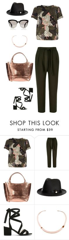 """""""HW-11 Drama 3"""" by tanya-liljenfeldt on Polyvore featuring Dorothy Perkins, River Island, Rochas, Melissa Odabash, Kenneth Cole, Ekria and Christian Dior"""