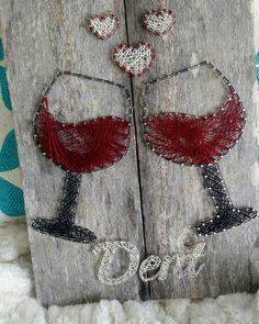 Wine Love String Art