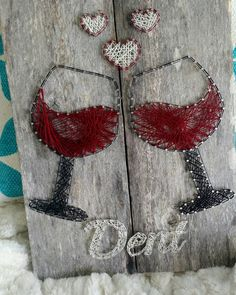 Wine Love String Art